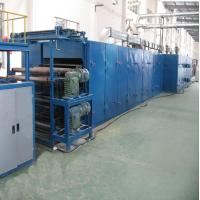 PET Thermal Bonding Machine For Mattress / Sofa , Polyester Wadding Production Line Manufactures