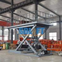 Heavy Duty Hydraulic Scissor Car Lift Table For Home Garage Car Parking Lifting Manufactures