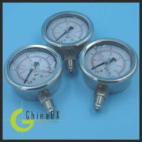 China GXPG series different types of pressure manometer gauge on sale