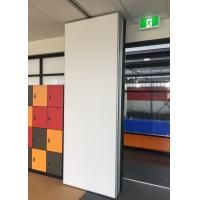 Conference Hall Portable Wall Partitions Hinged Paired Rubber Sealing Manufactures