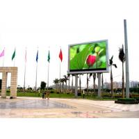 Electronic Thin SMD Outdoor LED Billboard , P8mm 1R1G1B LED Screen