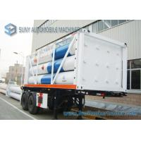 High Performance 12 Tubes Containe CNG Tank Trailer ISO11120 / BV