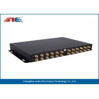 High Power RS232 RFID Reader , Ethernet RFID Reader With 24 Channels One GPIO Manufactures