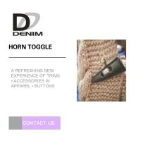 High Durability Horn Coat Buttons Washable Sweater Clothing Accessories Manufactures