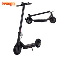 Alloy Material Folding Motor Scooters For Adults , Stand Up Motorised Scooters 350W Front Motor Manufactures
