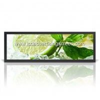 China Android 28 Inch 700 Nits 1920*360 Stretched Bar LCD Touch Screen Open Frame or with Frame on sale