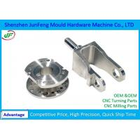 OEM Cnc Motorcycle Parts Customized Aluminium stainless / Iron Material Manufactures