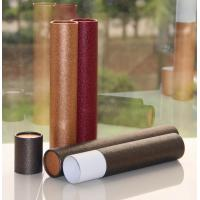 Classical Leather Surface Cardboard Paper Cans Packaging with SGS Certification Manufactures