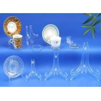 D Type Clear Plate Easels & Coffee Cup and Saucer Stands Manufactures