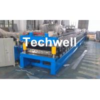 Main Motor Power 7.5kw Roofing Sheet Making Machine / IBR Profile Roll Forming Machine Manufactures