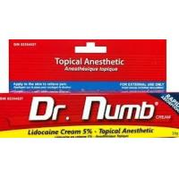 OEM Dr.Numb Lidocaine Pain Relief Tattoo Anesthetic Cream Manufactures