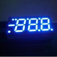 Blue / Red / Green 0.52 Inch 3 Digit Seven Segment LED Display For Heating and Cooling Manufactures
