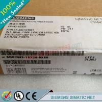 China SIEMENS SIMATIC NET 6GK 6GK7543-1AX00-0XE0 / 6GK75431AX000XE0 on sale