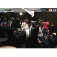 Shopping Mall Motion Ride 5D Movie Theater Movement Chair With 5D Simulator Manufactures