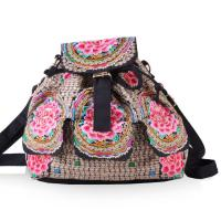 Yunnan JIXIU new arrival canvas girls backpack promotional price school bag Manufactures