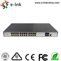 L3 Managed PoE Switch: 24-Port 10 / 100 / 1000Base-T PoE+ with 4 x10G SFP+ ports Manufactures