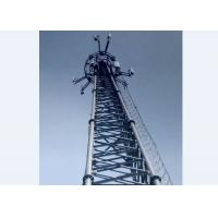 Outside Microwave Communication Tower Strong Steel Structure Tower Manufactures