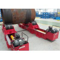 4 Wheels Normal  Welding Rollers 40 Tons Hydraulic Cylinder Adjust Wheels Center to Center Distance Manufactures