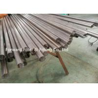 China 1 Inch-3 Inch Stainless Steel Perforated Metal Tube / Perforated Metal Filter Pipe For Muffler Pipe wholesale