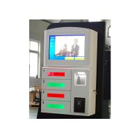 Magstripe Card / IC Card / Member Card Accepted Cell Phone Charging Station with 19 Inch Touch Screen Manufactures