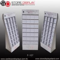 Floor display stand dividing wall with boxes Manufactures