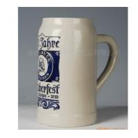 EXPORT beer mug ceramic beer cup 1L custom LOGO for your design from china Manufactures