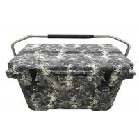 China Camouflage Oem Insulated Cooler Box Rotomolded Ice Chest Outdoor Camping For Army on sale