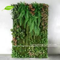 GNW GLW097 Wholesale Fake Plant Panel for Green Wall Garden Landscaping Ornaments Manufactures