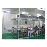 Aerospace / Electronics Softwall Clean Room Chamber With HEPA Air Filter 110V / 60HZ Manufactures