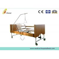 Five Functions Electric Wooden Medical Hospital Beds / Home Care Bed by Cold Roll Sheet (ALS-HE001) Manufactures