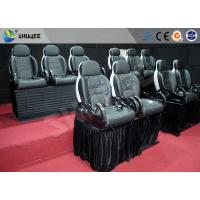 2 Seats Per Set 6D Movie Theater Simulator Cinema With 14 Special Effects Manufactures