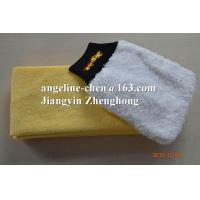 super soft microfiber plush car cleaning gloves mitts Manufactures