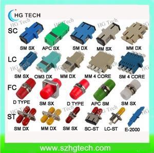 SC/LC/FC/ST Fiber Optic Adapter Manufactures