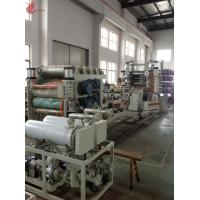 China High Speed Pvc Calendering Machine , Pvc Film Calender Machine Smooth Running wholesale