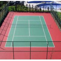 SGS PU Sports Flooring Anti Slip Floor Coating Thick Elastic Basketball Court Paint Manufactures