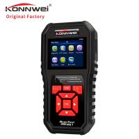 Pc Konnwei Car Diagnostic Scanner / Obd2 And Can Scan Tool Emissions Test Manufactures
