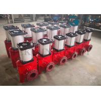 Pneumatic Actuated Viton Sleeve Slurry Pinch Valve For Mining Application Manufactures