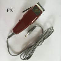 Red Pro Mens Hair Trimmer Electric Strong Power 30W Barber Shop Clippers Manufactures