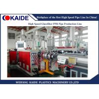 Machine to make three layers ppr glassfiber ppr pipe  / Plastics PPR Pipe Production Line Manufactures