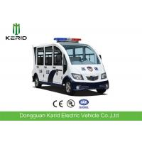 Full Enclosed 48V 4KW Electric Patrol Car , Electric Police Vehicles 6-8 Seats Manufactures