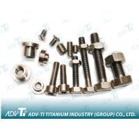 GR2 GR5 Titanium Fastener bolts and nuts washer Manufactures