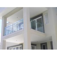 Stainless steel spigot glass railing/ glass balustrade for balcony use design Manufactures