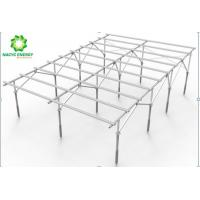 Buy cheap Foldable Rolling Aluminum Ground Mount Solar Racking System With Adjustable from wholesalers