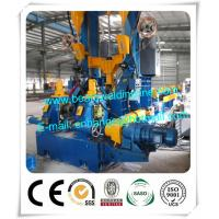 Light Steel Automatic H Beam Production Line , H Beam Combination Welding Machine Manufactures