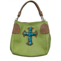 low price pu leather turquoise bags cowgirl style purse Manufactures