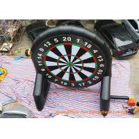 Inflatable Double Sided Foot Dart Games , Velcro Dart For Club Sports Manufactures