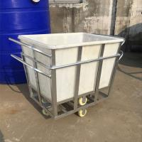 Large Industrial Heavy duty  Plastic Crate Tub and bins for storage and pallet used Manufactures