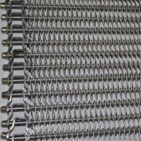 Balanced Wire Mesh Conveyor Belt With High Temperature Resistance SGS Manufactures