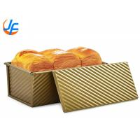 Non Sticky Pullman Loaf Pan With Cover Aluminum Bakeware Bread Toast Mold Manufactures