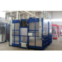 Rack and Pinion Double Cabin Construction Hoists for Transport Material and Personnels Manufactures